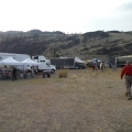 Staging area for the Seepay Fire.