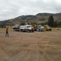 Demobilizing from the Seepay Fire.