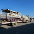 Our reclaimation skidgen, Big Bertha, on the way to the next job.