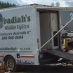 Shop Truck - Back - Obadiah's Wildfire Fighters
