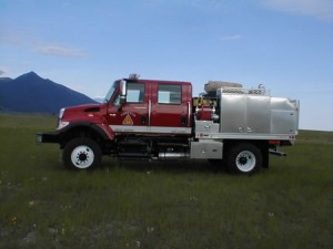 Type 3 Engine - Side - Obadiah's Wildfire Fighters