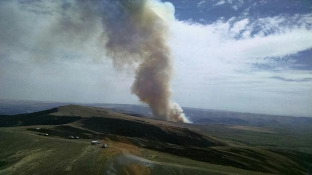 Waterville fire - Obadiah's Wildfire Fighters