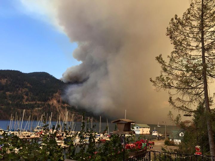 Cape Horn Fire near Sandpoint, ID - Obadiah's Wildfire Fighters