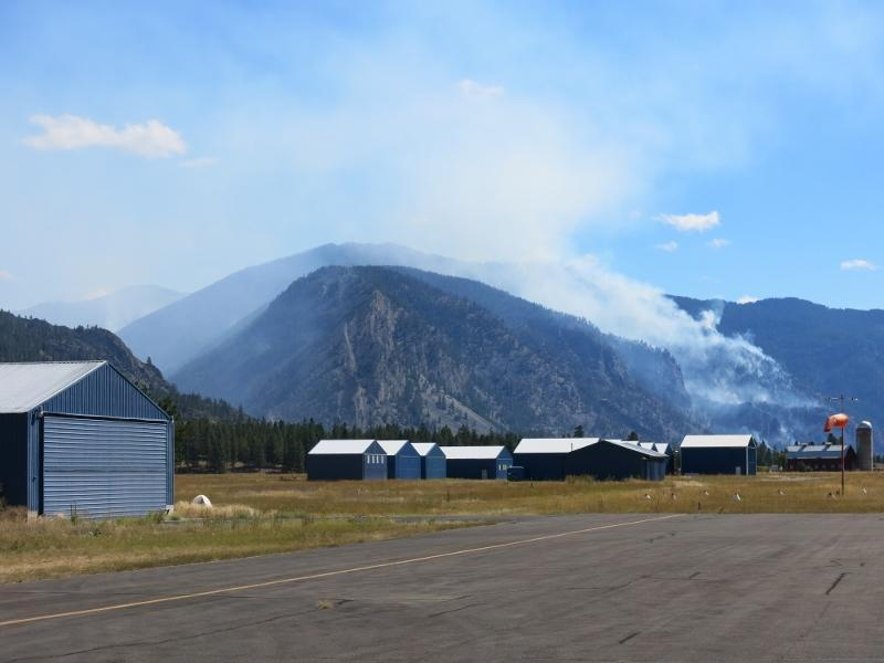 Copper King fire near Thompson Falls - Obadiah's Wildfire Fighters