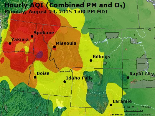 Northwest Air Quality - Obadiah's Wildfire Fighters