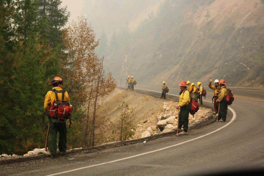 Okanagan Complex Fire receives rain - Obadiah's Wildfire Fighters