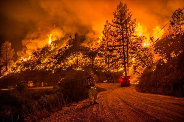 California Butte Fire - Obadiah's Wildfire Fighters